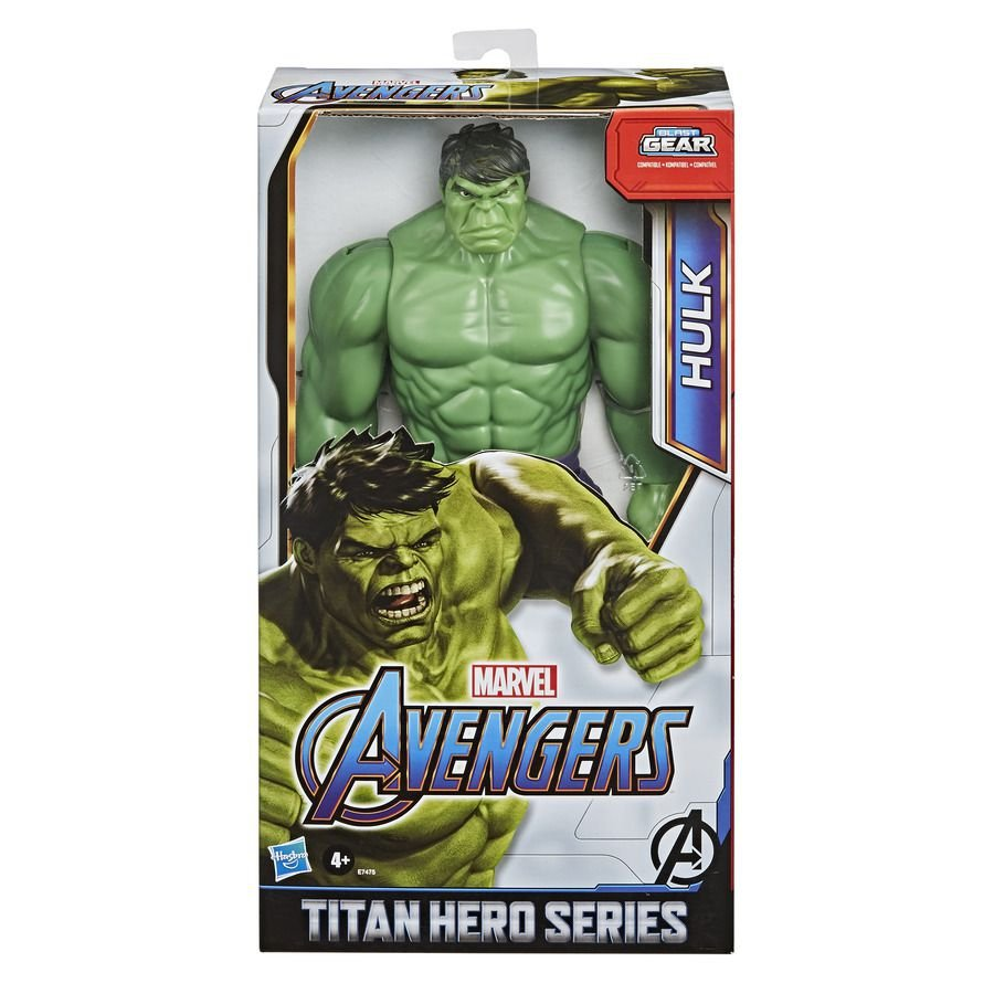 Boneco Hulk Titan Hero Deluxe Blast Gear - Hasbro