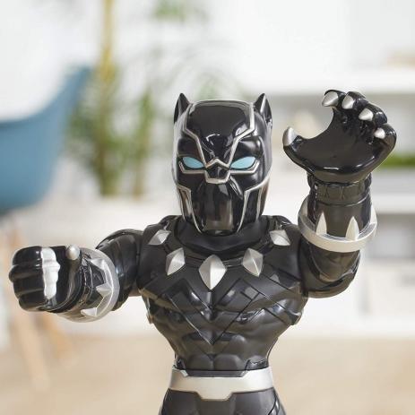Boneco Playskool Heroes Mega Mighties Pantera Negra - Hasbro