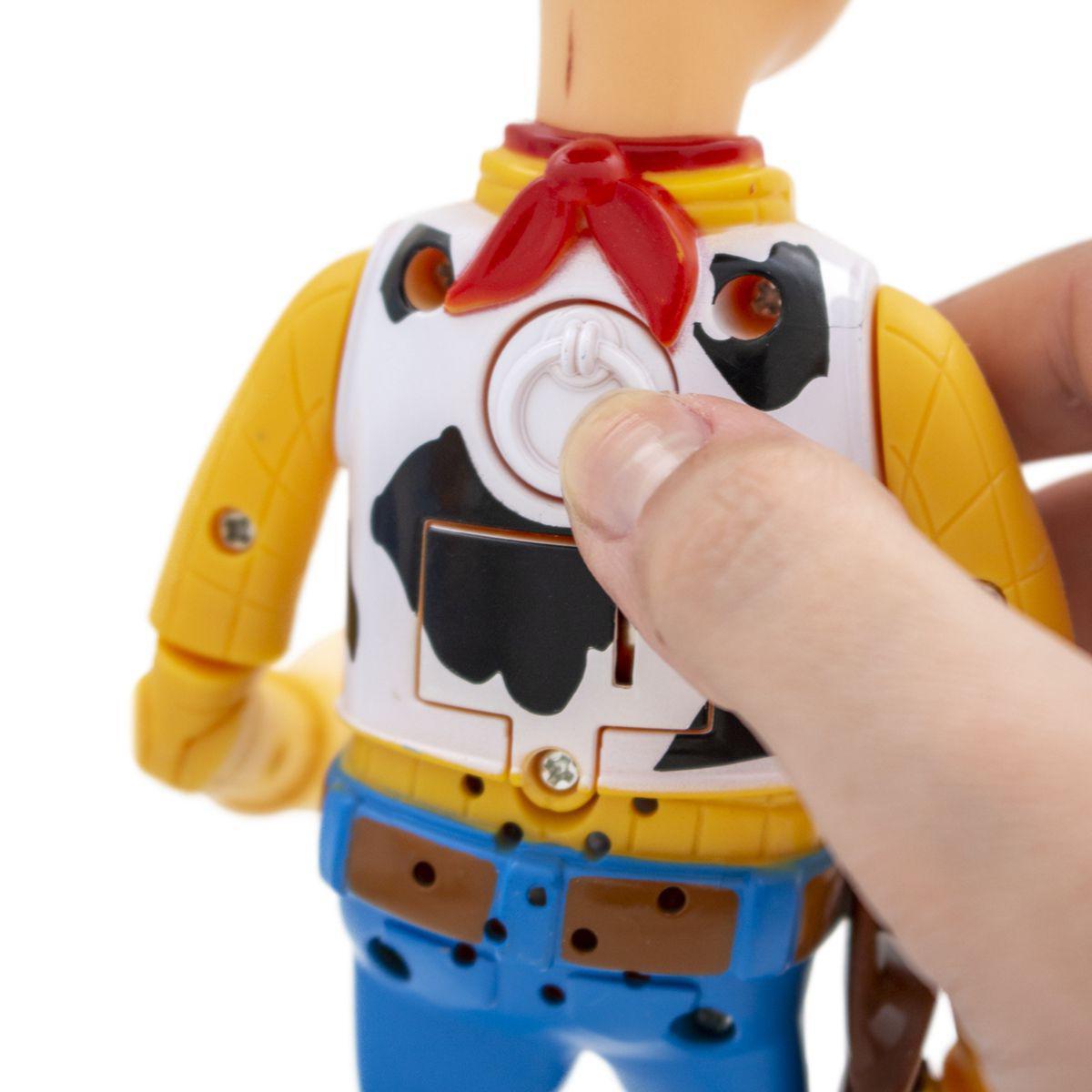 Boneco Woody Com 14 Frases Toy Story - Toyng