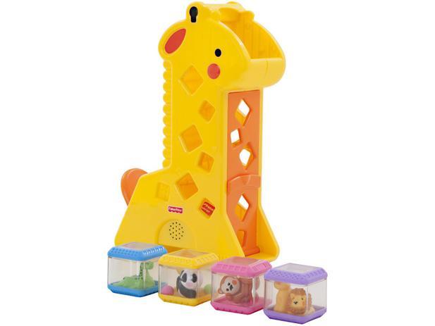 Brinquedo de Encaixar Blocos Girafa - Fisher-Price