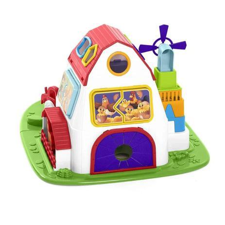Brinquedo Educativo Fazendinha Colorida - Calesita