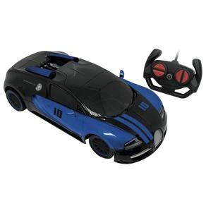Carro Controle Remoto Evil Ghost 7 Funções - Azul - Candide