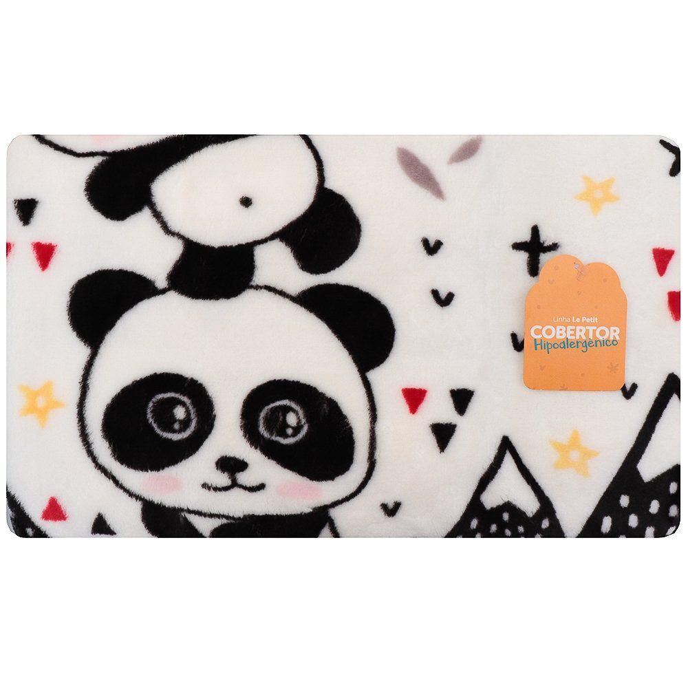 Cobertor de Bebê Le Petit Panda - Colibri