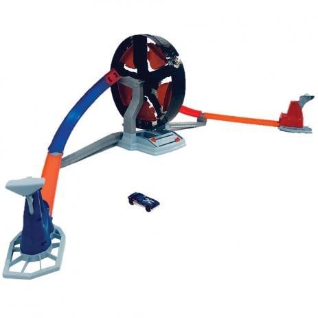 Conjunto Hot Wheels Competição Giratória - Mattel