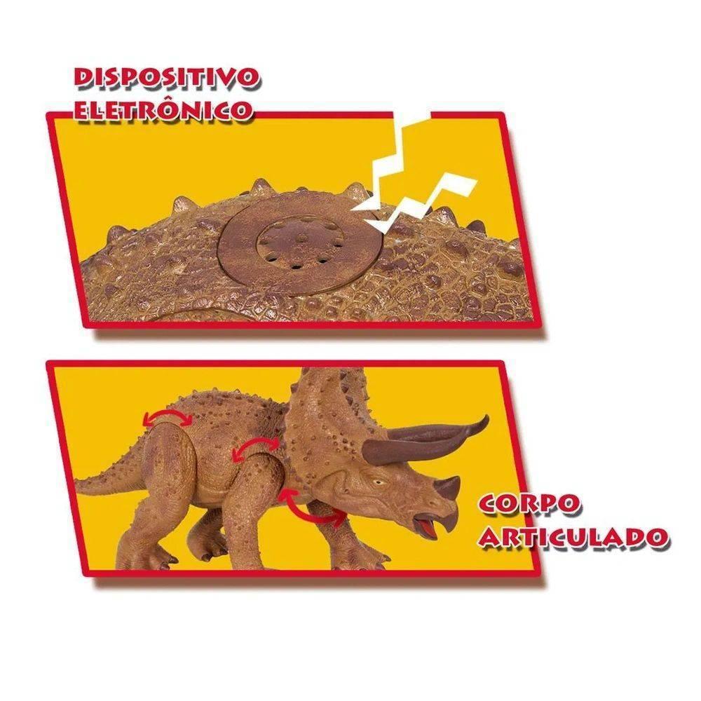 Dino World Triceratops - Cotiplas