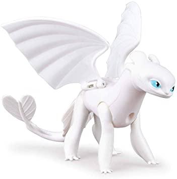 Figura e Boneco Como Treinar Seu Dragão 3 Lightfury - Sunny