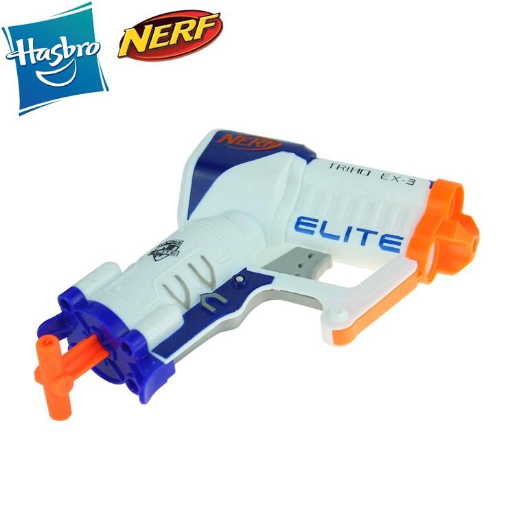 Lançador Nerf Elite Triad EX-3 - Hasbro