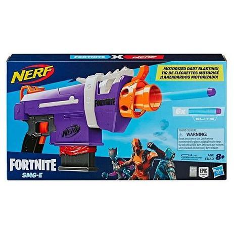 Lançador Nerf Fortnite SMG-E - Hasbro