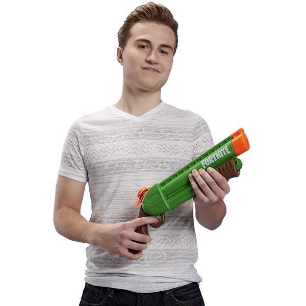 Lançador Nerf Super Soaker Fortnite Pump-SG - Hasbro
