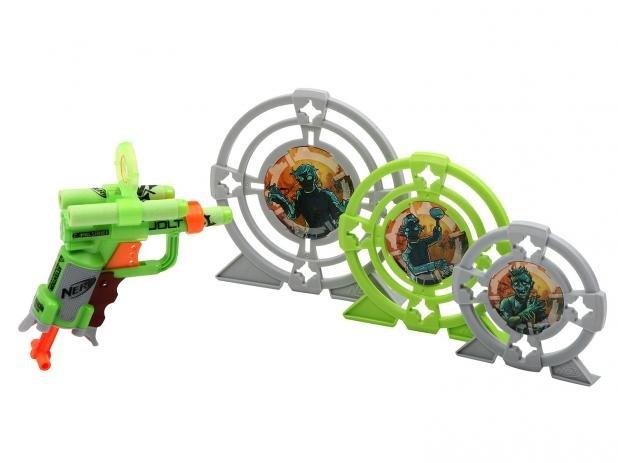 Lançador Nerf Zombie Com Alvos - HASBRO