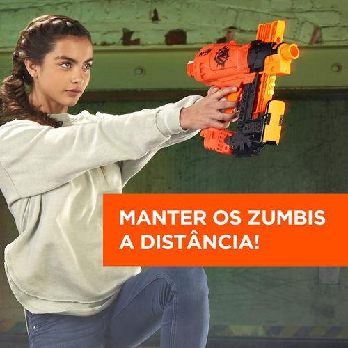 Lançador Nerf Zombie Strike Survival - Nailbiter - Hasbro