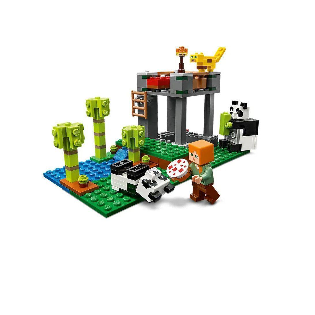 LEGO Minecraft - A Creche dos Pandas - Lego