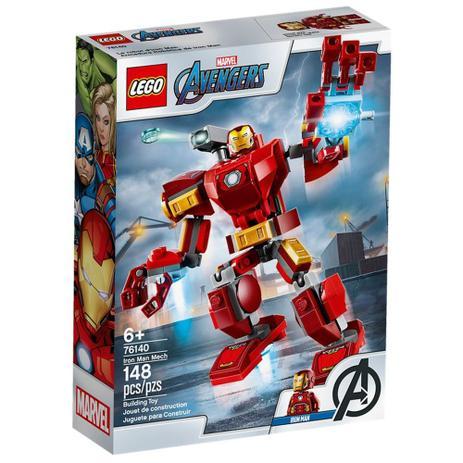 LEGO Super Heroes - Avengers - Marvel - Robô Iron Man