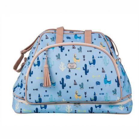 Mala de Maternidade Lhama Azul - Momole bolsas