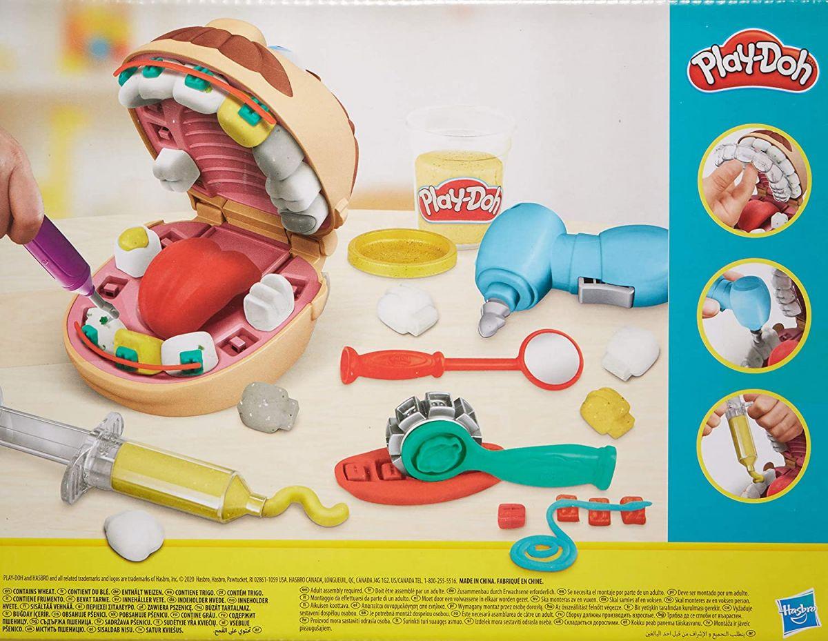 Massinha Play-Doh Brincando de Dentista (NOVO) - Hasbro