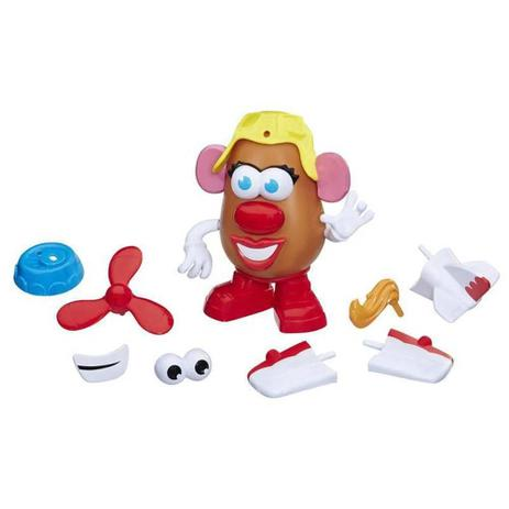 Mrs. Potato Head - Avião Divertido - Hasbro