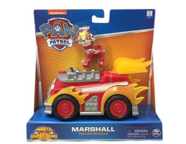 Patrulha Canina Veículo Deluxe Com Figura Marshall - Sunny