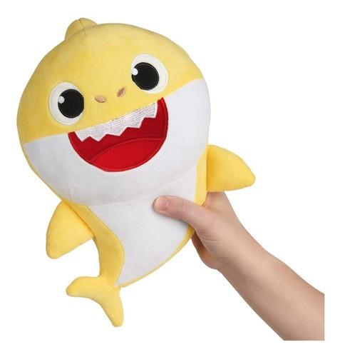 Pelúcia Musical Baby Shark 30cm Amarelo - Sunny