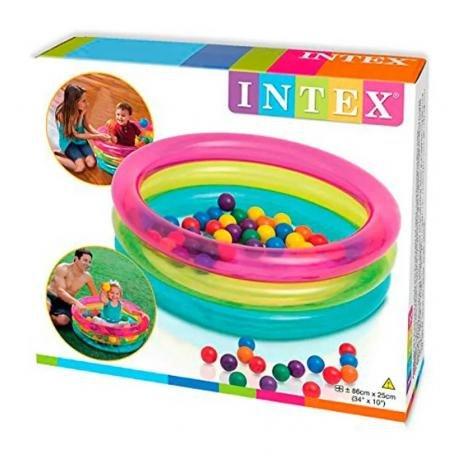 Piscina Inflável Infantil Com 50 Bolinhas - Intex