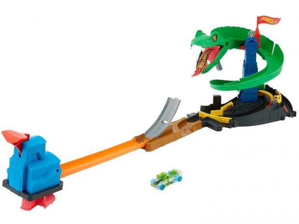 Pista Ataque de Cobra - Hot Wheels