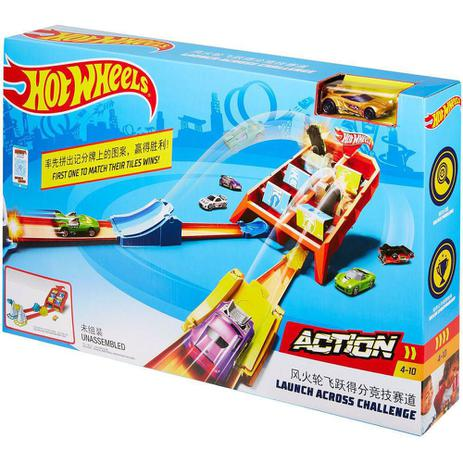 Pista Competição de Batidas Hot-Wheels - Mattel