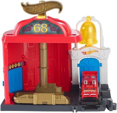 Pista Hot Wheels City Downtown - Fire Station - Mattel