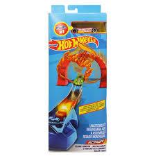 Pistas e Veículos Hot Wheels - Electric Tower - Loop Star - Flame Jumper - Mattel