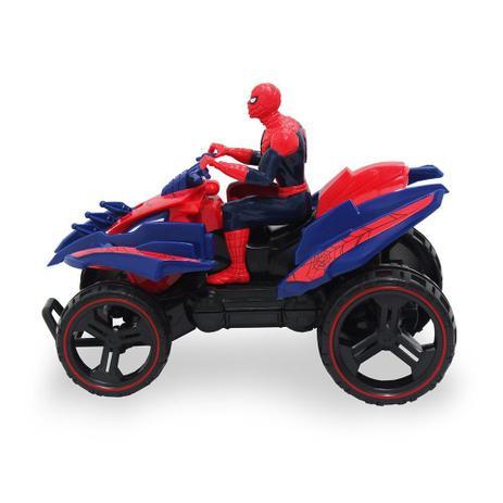 Quadriciclo Fricçao Homem Aranha - Toyng