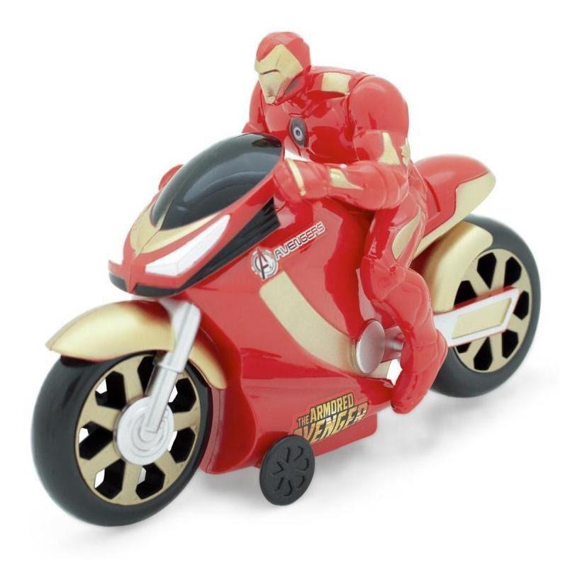 Super Moto Fricção Iron Man Vingadores - Toyng