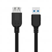 CABO EXTENSOR PARA USB 3.0 AM/AF 1.5M USBAF3015 PLUSCABLE