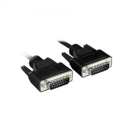 CABO PARA MONITOR VGA-CONECTOR GOLD 15 METROS PLUS CABLE - PC-MON15001