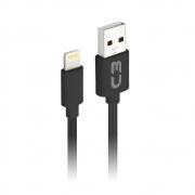 CABO USB LIGHTNING C3TECH - CB-L21BK