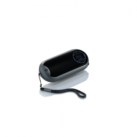 CAIXA DE SOM C3 TECH COM LCD/FM/MSD/BAT PRATA - ST-180