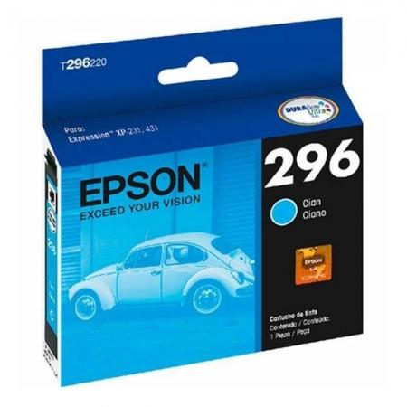 CARTUCHO EPSON T296 CIANO