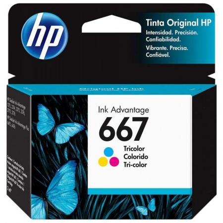 CARTUCHO HP 667 COLORIDO