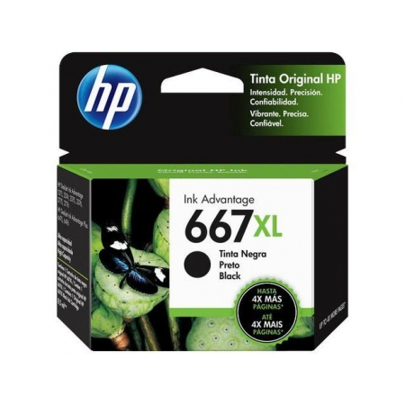 CARTUCHO HP 667XL PRETO