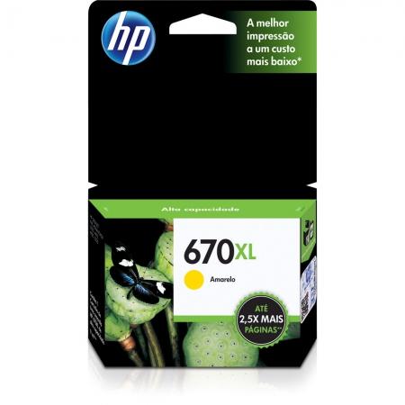 CARTUCHO HP 670XL AMARELO