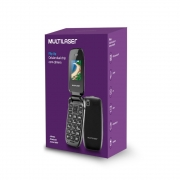 CELULAR FLIP MULTILASER UP DUAL CHIP MP3 PRETO - P9022