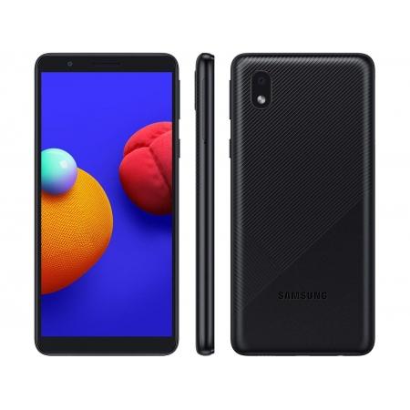 CELULAR SMARTPHONE SAMSUNG GALAXY A01 CORE, 32GB, 8MP, TELA 5.3´, PRETO - SM-A013M