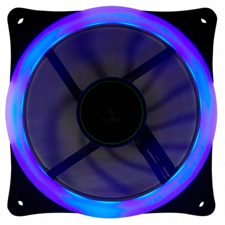 COOLER FAN T-DAGGER, 120MM, LED AZUL - T-TGF200-B