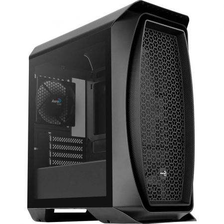 GABINETE GAMER AEROCOOL MINI TOWER AERO ONE MINI PRETO