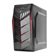 GABINETE GAMER C3 TECH MT-G70BK, SEM FONTE, HD AUDIO