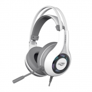 HEADSET GAMER HERON 2 7.1, USB, BRANCO PH-G701WHV2  C3 TECH