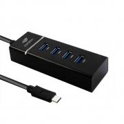 HUB USB 3.0 TIPO COM 4 PORTAS  HU-C300BK C3T