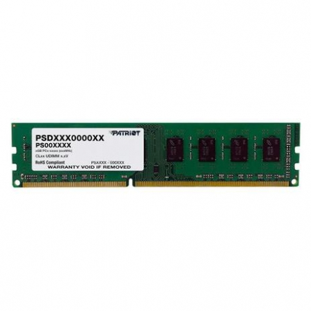 MEMORIA PATRIOT 4GB, DDR3, 1600MHZ - PSD34G16002