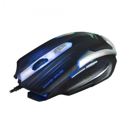 MOUSE GAMER MG-11BSI USB PRETO/PRATA - C3TECH