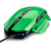 MOUSE GAMER WARRIOR ARMOR 8200DPI PERSONALIZÁVEL - MO247
