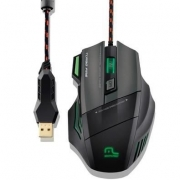MOUSE GAMER WARRIOR RAYNER 3200DPI 7 BOTOES QUICKFIRE - MO207