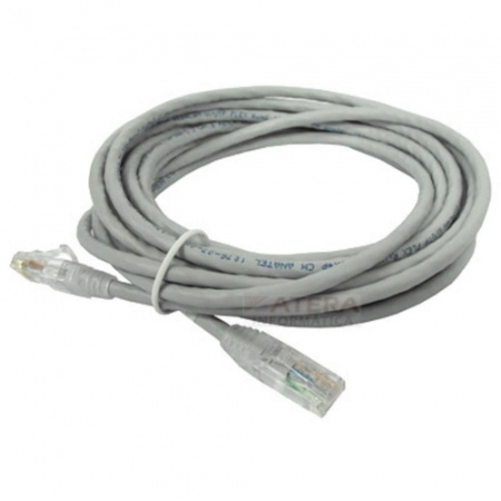 PATCH CORD STA UTP CAT5E 5 METROS CINZA