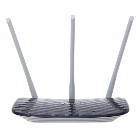 ROTEADOR TP-LINK ARCHER C20 WIRELEES, DUAL BAND, AC750 , 2,4/5GHZ, 3 ANTENAS